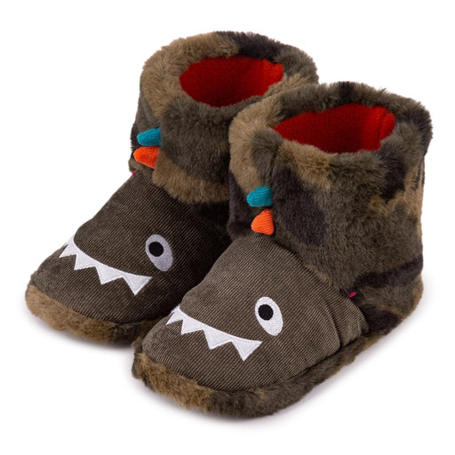 Totes Children's Dinosaur slippers