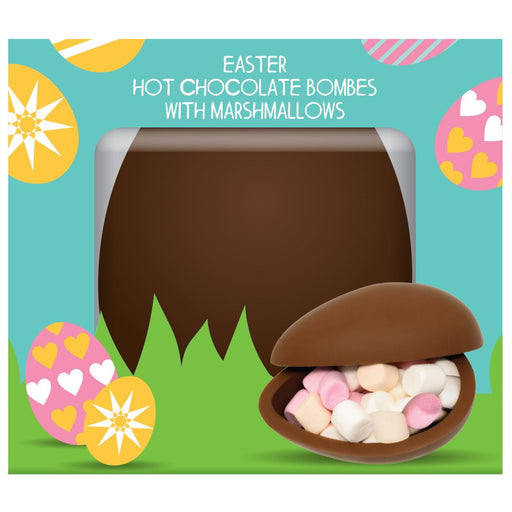 Easter Hot Chocolate Bombe Marshmallows