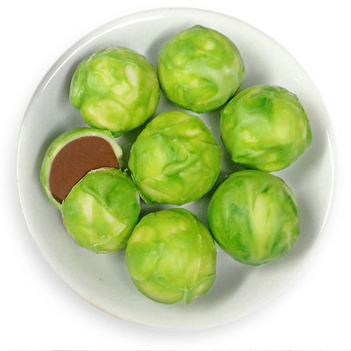 Christmas Chocolate Brussels Sprouts