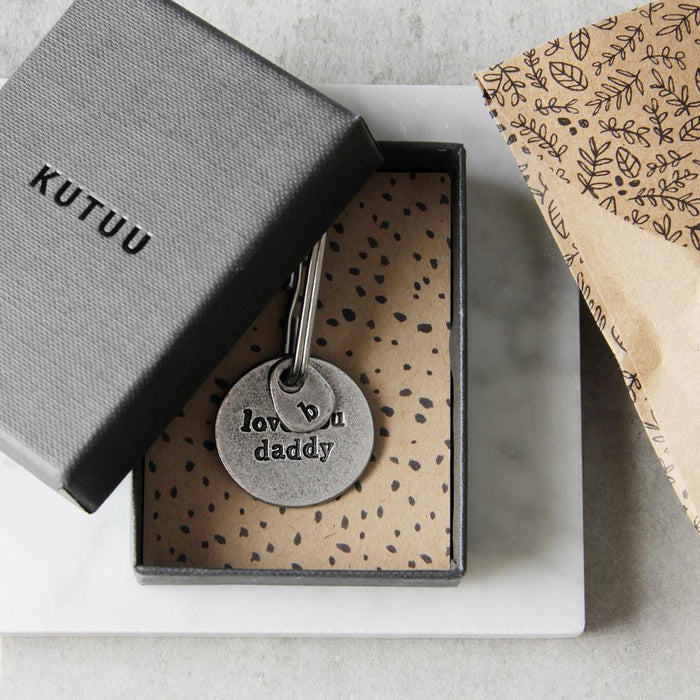 Love You Dad/Daddy/Dada Keyring