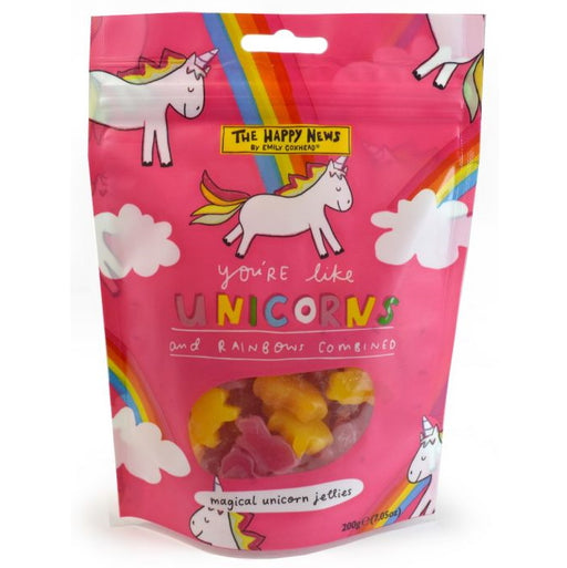 Happy News Unicorns & Rainbows Sweets