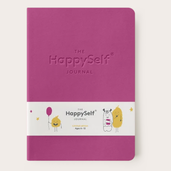 The Happy Self Journal - Pink