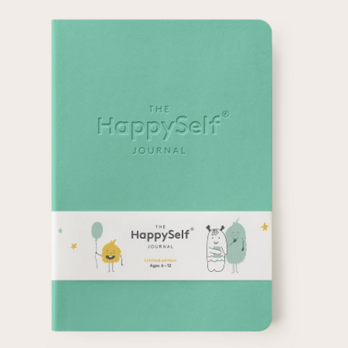 The Happy Self Journal - Turquoise