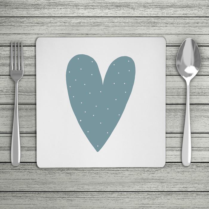 Fun Scandi Personalised Initial Placemat (Mix & Match Colours)