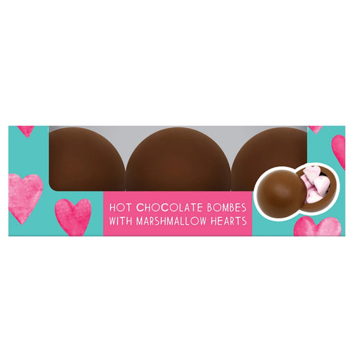 Heart Mini Marshmallow Hot Chocolate Bombes