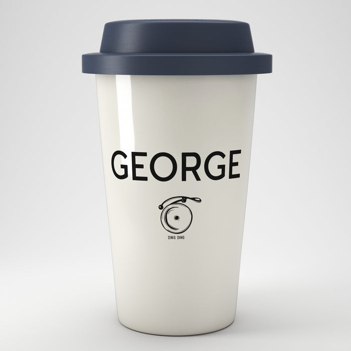 Sports And Hobbies Personalised Eco Coffee Travel Mug