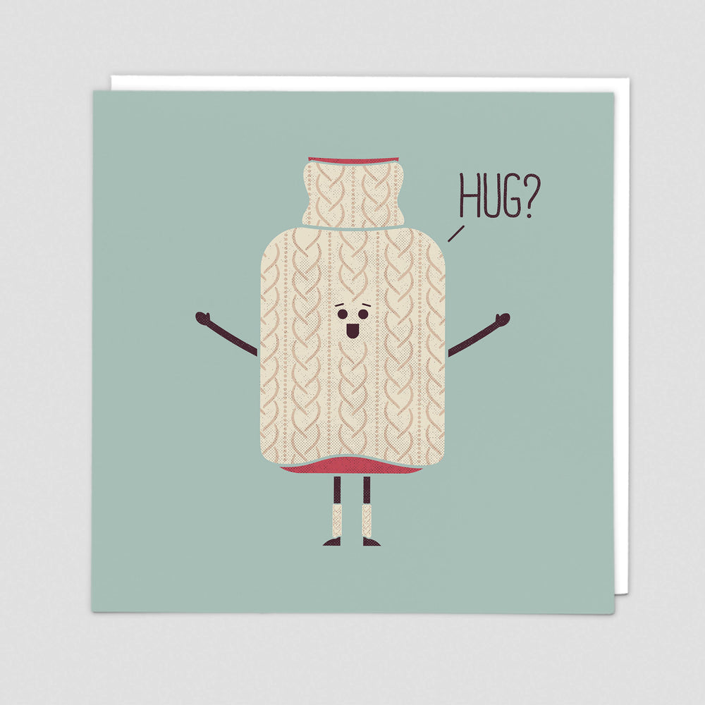 Hug Get Well Card