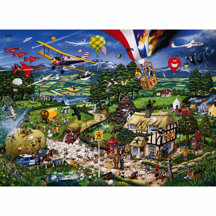 I Love The Country By Mike Jupp Puzzle