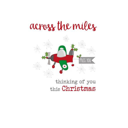 'Across The Miles' Christmas Card