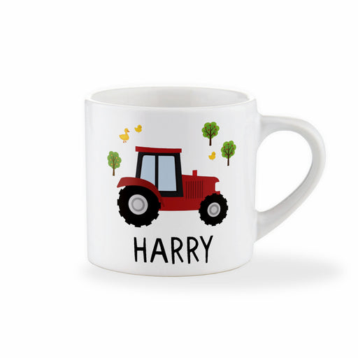 Personalised Children's Tractor Mug