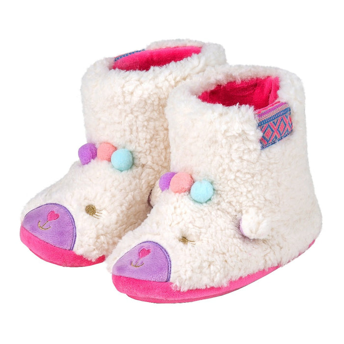 Totes Children's Llama Slippers
