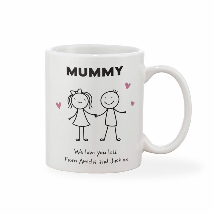 Personalised Mother's Day Mug Kids (Various Designs)