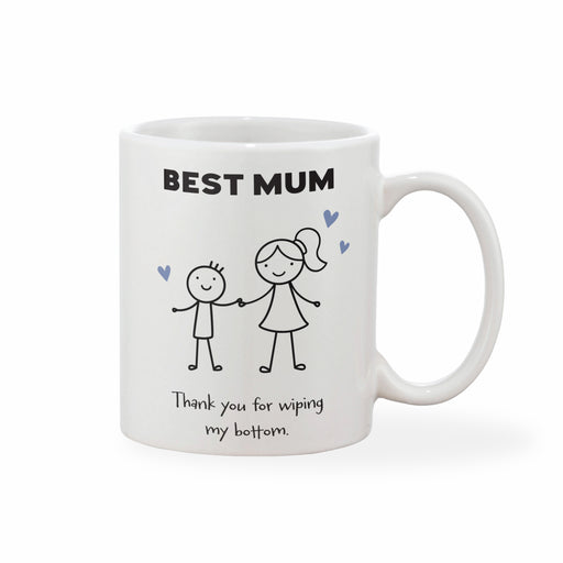 Personalised Mother's Day Mug - Mother & Child