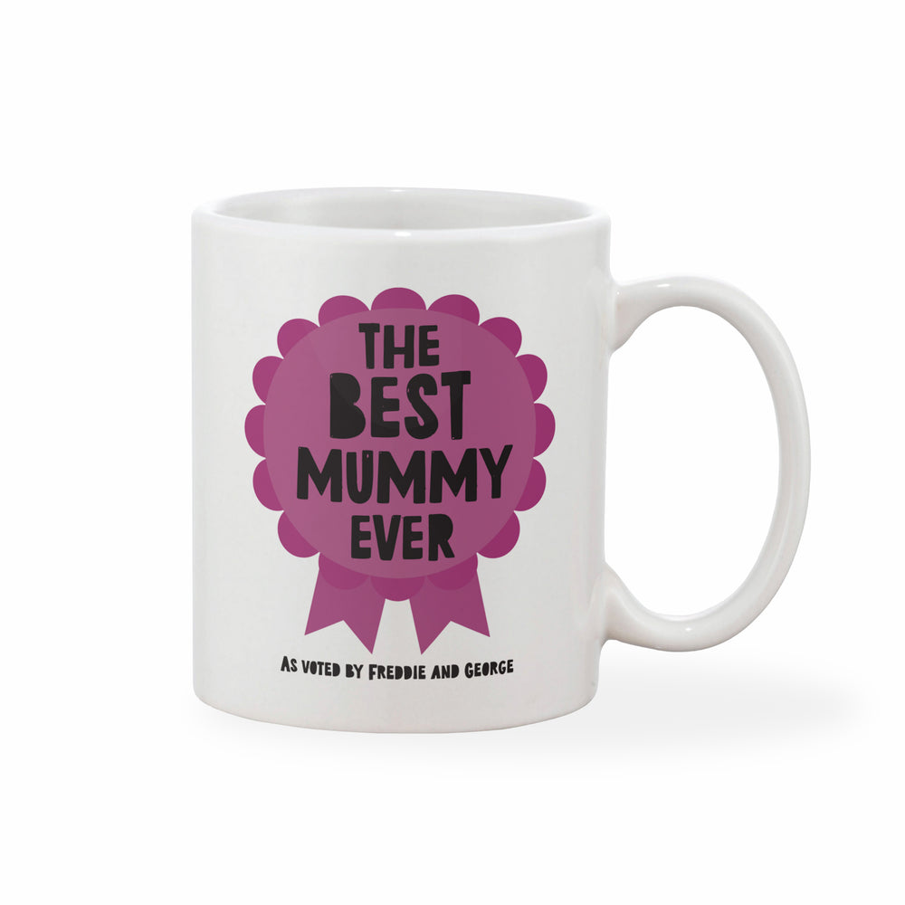 Rosette Personalised Mother's Day Mug