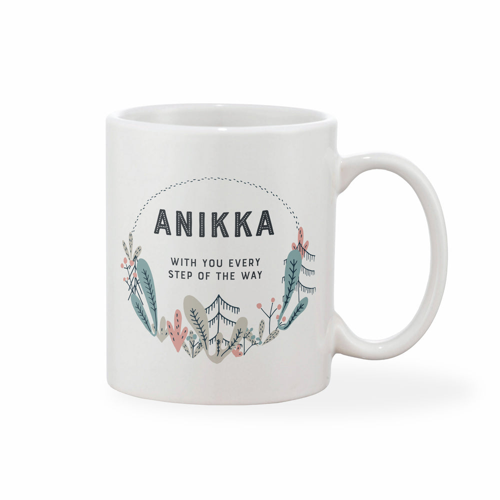 Pretty Personalised Mug