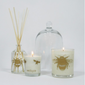 Beefayre Bee Loved Peony Rose Votive Candle