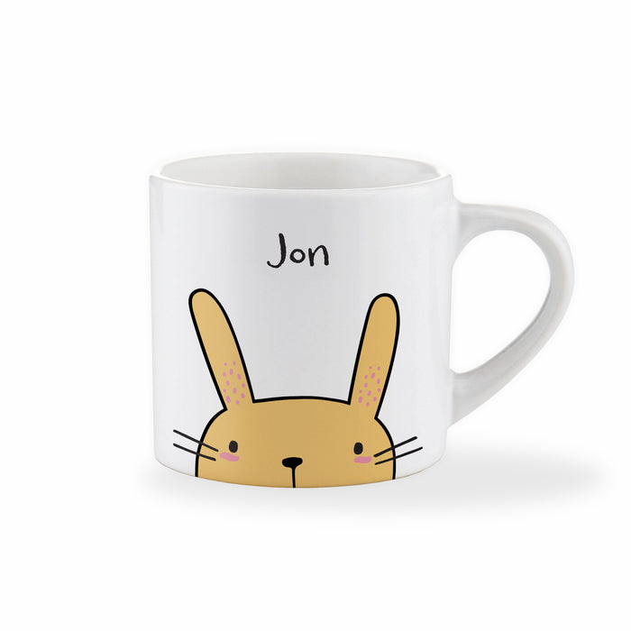 Personalised Name Easter Bunny Mug