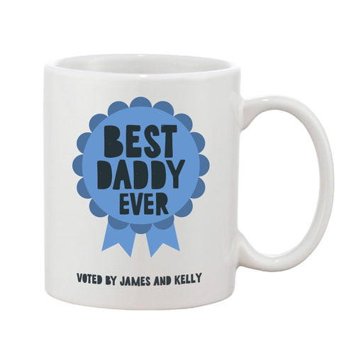 Father's Day Rosette Personalised Mug