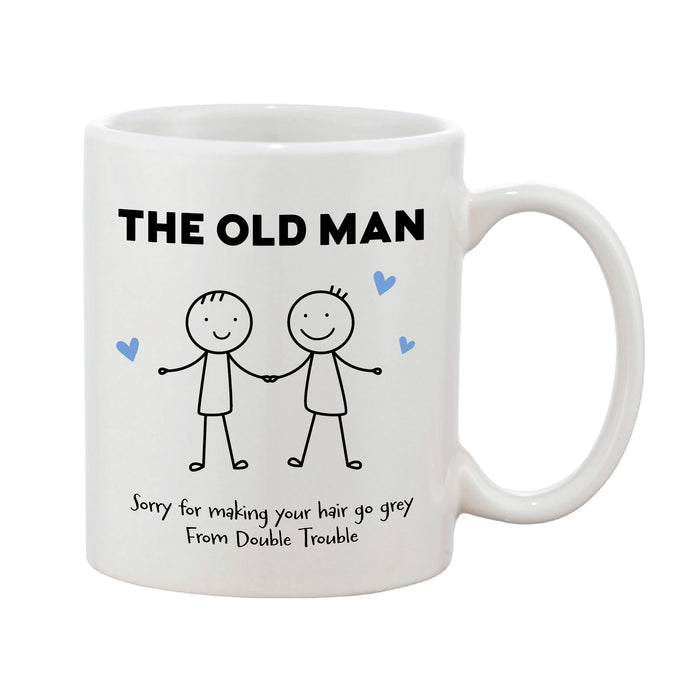 Personalised Stick People Personalised Father's Day Mug (Various Designs)