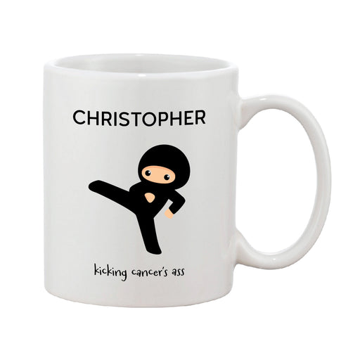 Kicking Cancer's Ass Personalised Mug
