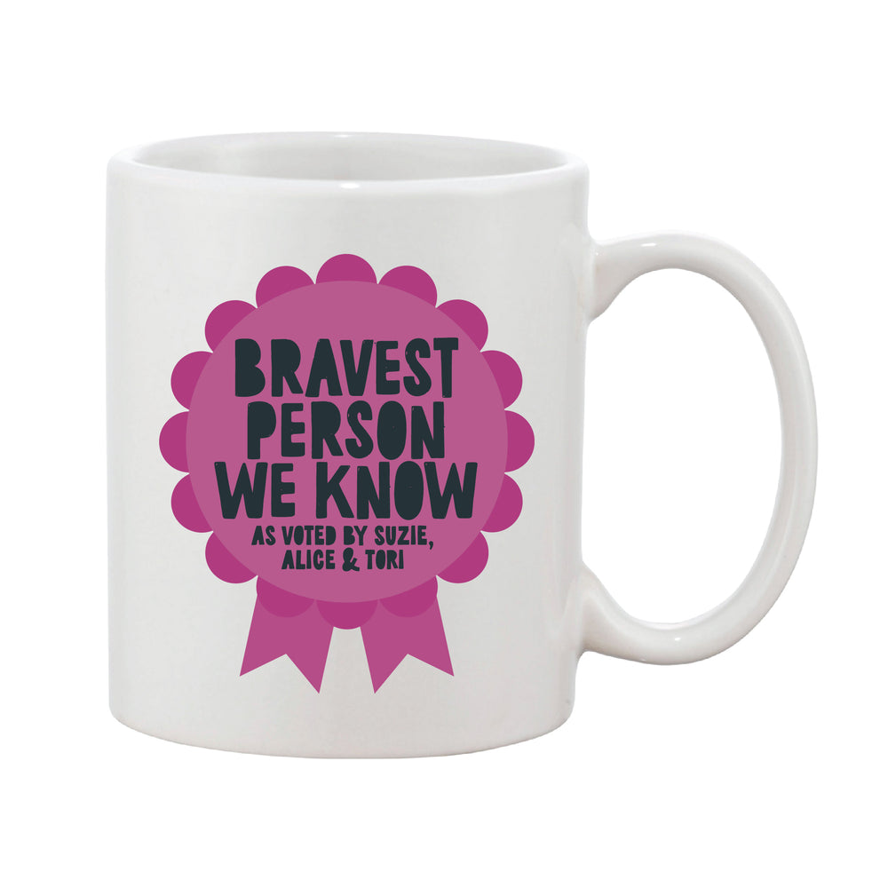Rosette Personalised Award Mug