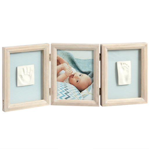 New Baby Hand And Foot Print Wooden Frame