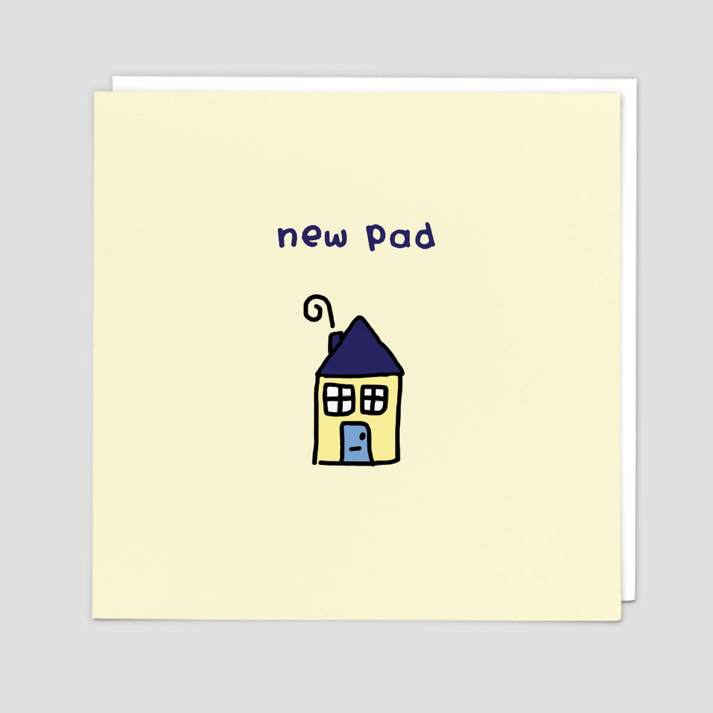 New Pad New Home Card