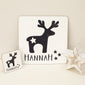 Christmas Reindeer Place Mat & Coaster Set
