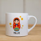 Children's Personalised Russian Doll Mug
