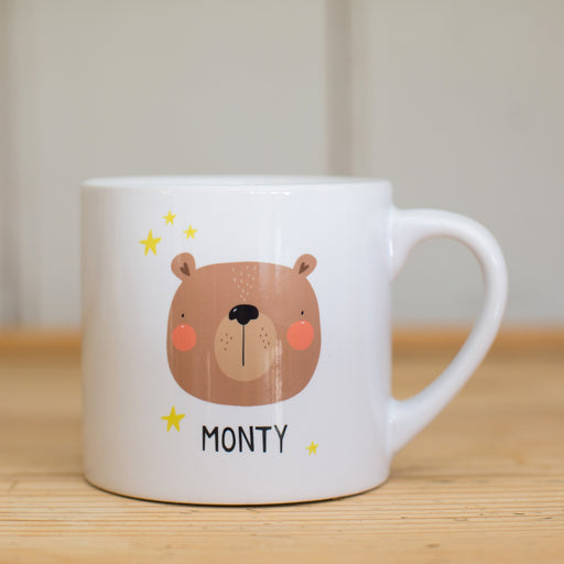 Children's Personalised Animal Mug (Various Designs)