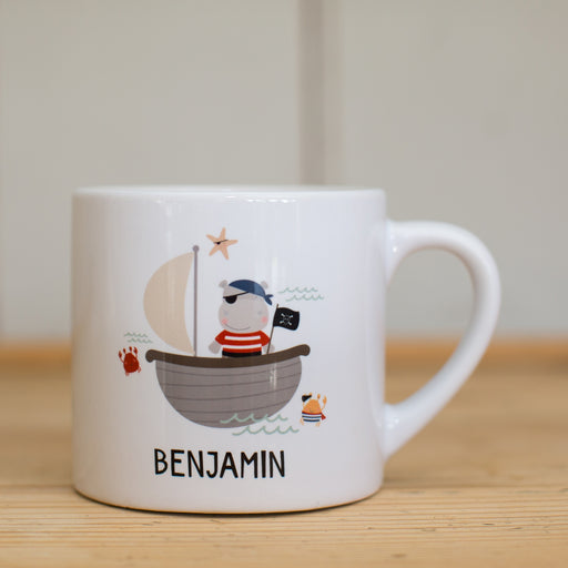 Children's Personalised Pirate Mug