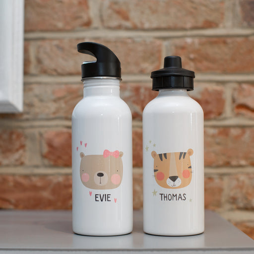 Children's Personalised Animal Water Bottles