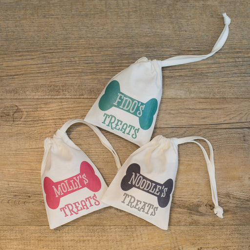 Personalised Dog Treat Gift Bag