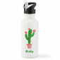 Personalised Cactus Water Bottle