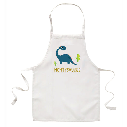 Children's Personalised Dinosaur Apron