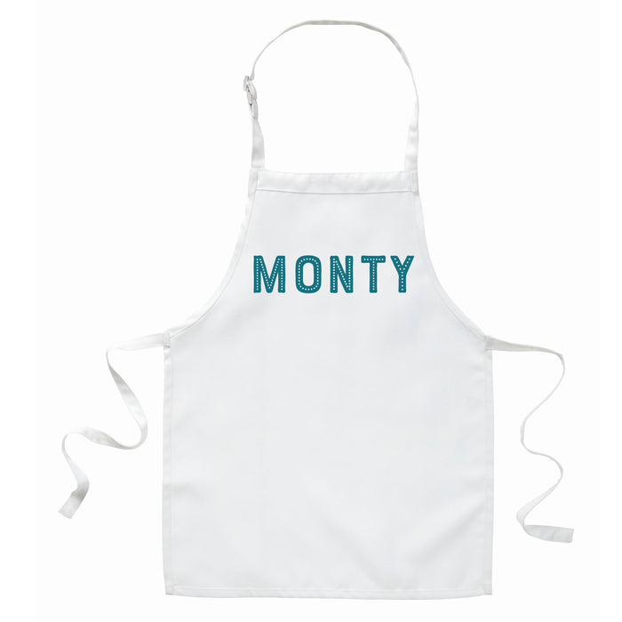 Children's Personalised Name Apron