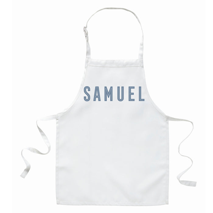Children's Personalised Inline Apron