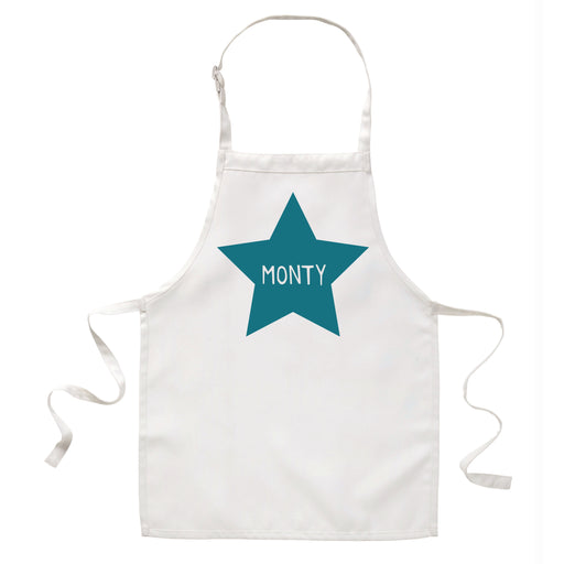 Children's Personalised Star Apron