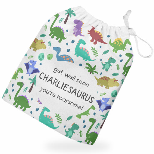 Personalised Dinosaur Gift Bag