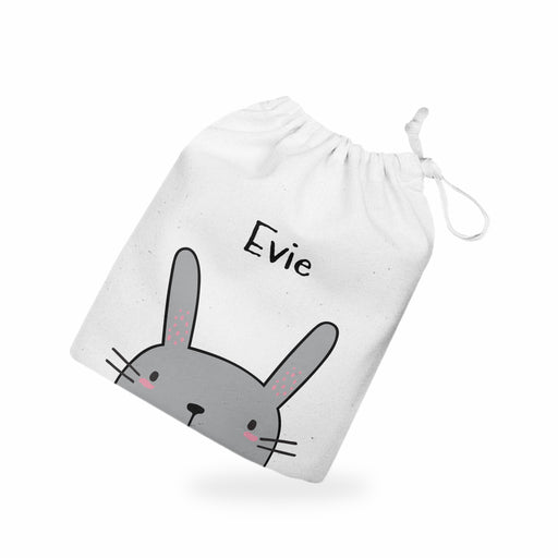 Personalised Name Easter Bunny Treat Gift Bag