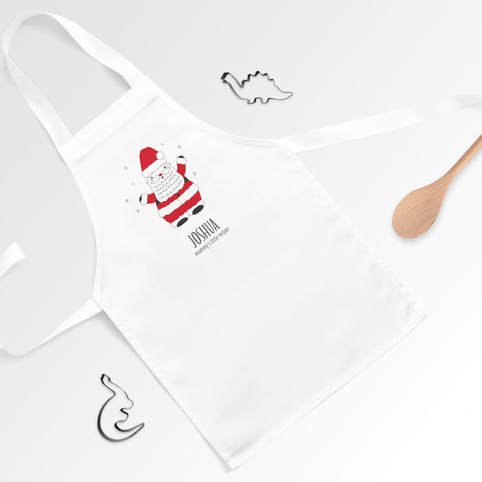 Personalised Father Christmas Santa Apron