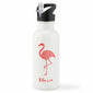 Personalised Flamingo Mandala Water Bottle