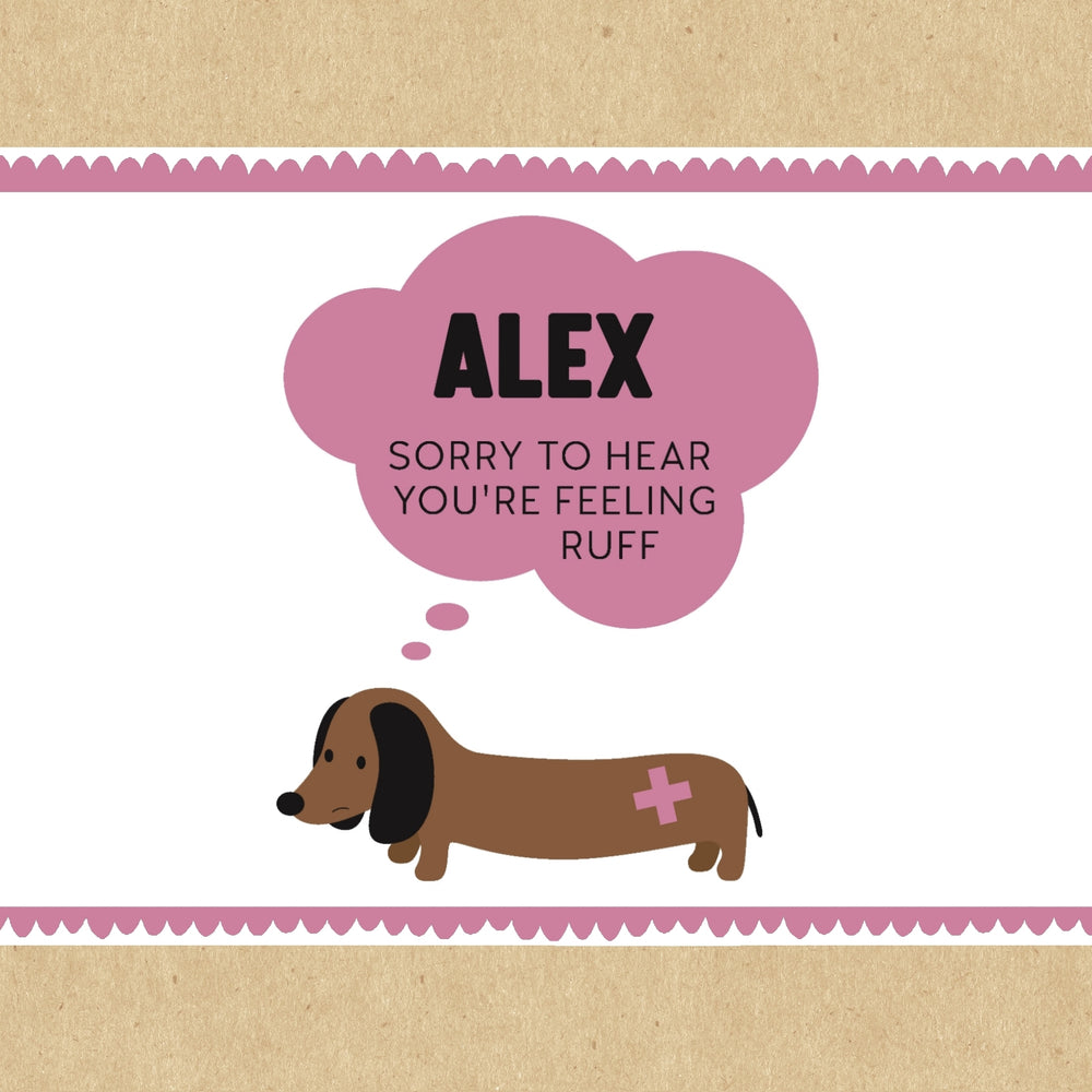 Feeling Ruff Personalised Gift Box