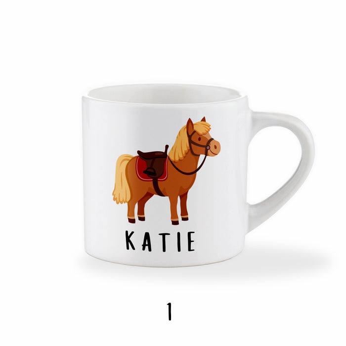 Personalised Pony Mug