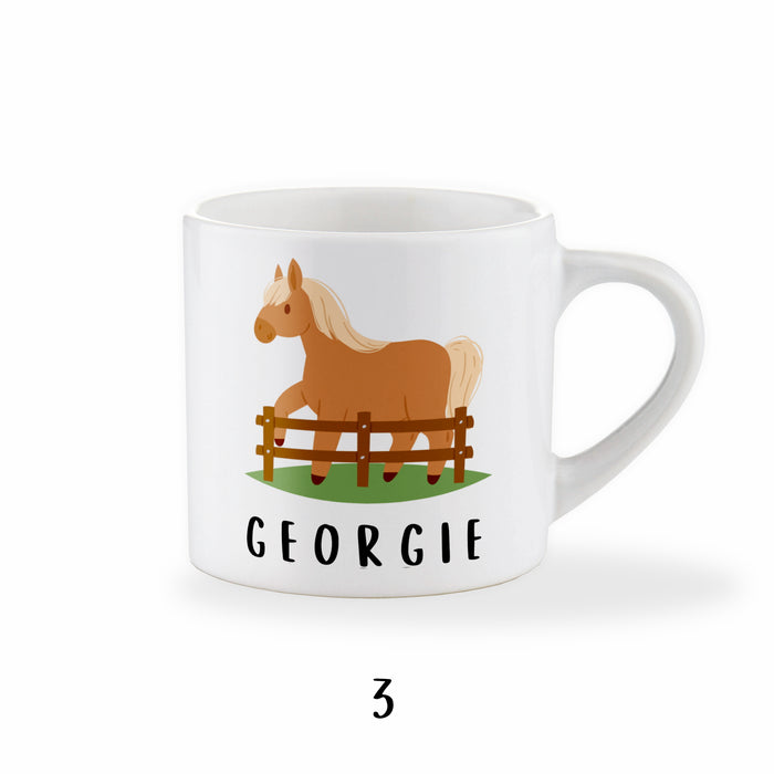 Personalised Kid's Pony Mug