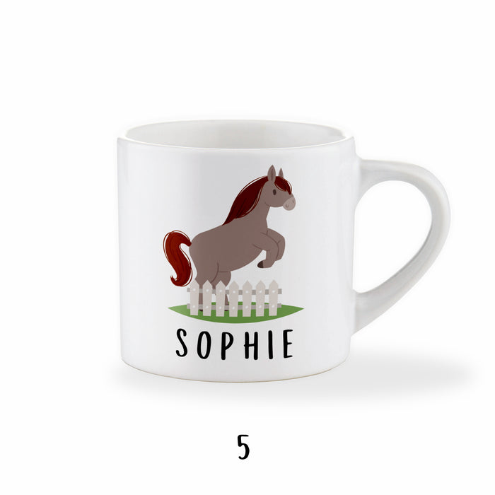 Personalised Pony Mug For Children