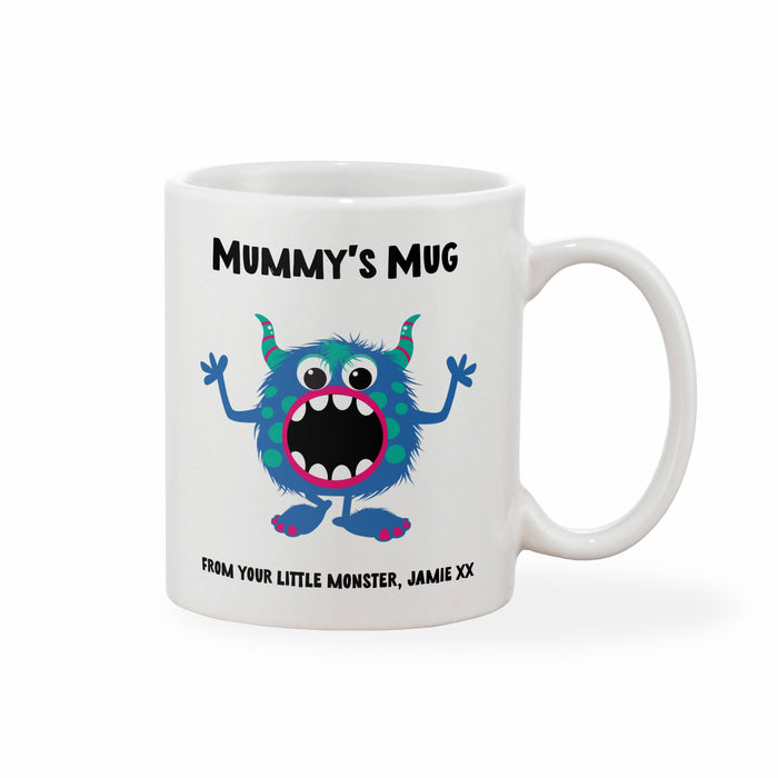 Personalised Little Monster Mother's Day Mug