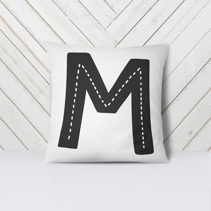 Personalised Hygge Initial Cushion