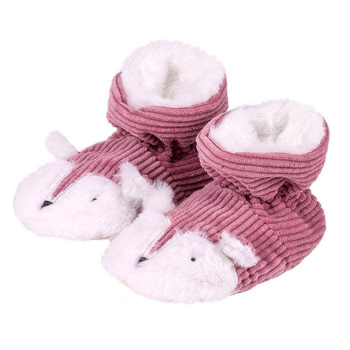 Totes Toddler Pink Fox Slippers