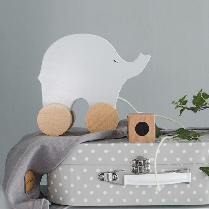 Pull Along Elephant New Baby Gift